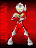 ultraman by KruzdelZur