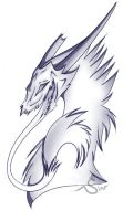 Dragon Headshot by Navicii