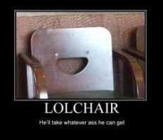 lol chair by stfuah