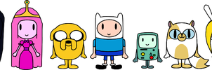 Adventure Time PACs by LimeTH