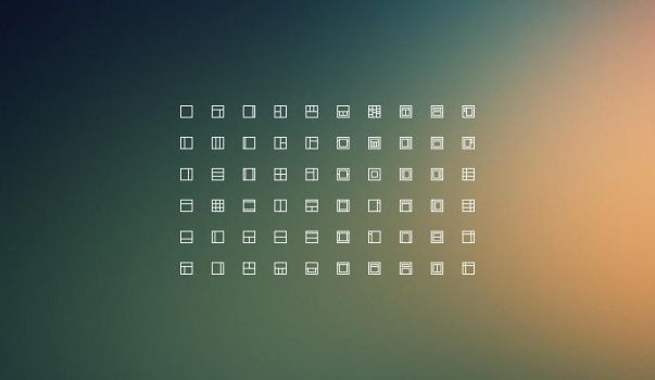 Layouts icons freebie by alesnesetril