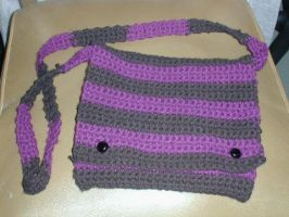 Crochet Purse by candyspiders