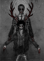 Hannibal and Will ~ Puppet by MR-chan