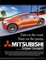 Eclipse Concept-E Car Ad by WhiteIce89