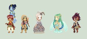 Have some sprites by akujin-joutei
