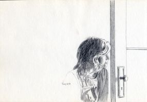 Linda Looking Out by hank1