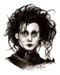Edward Scissorhands by aegia