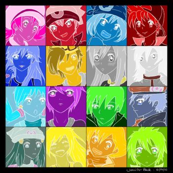 Pokemon Special Popart by whitty-boo