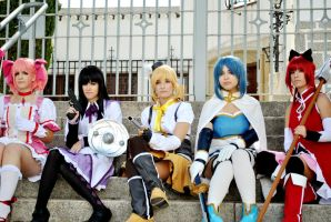 We are strong - Madoka Magica by Tina-Jack