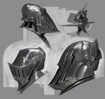 Study Helmets by Robotpencil