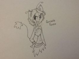 The female fire mouse by angelchibivocaloid