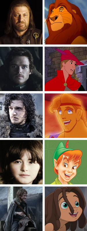 Game of thrones meets Disney: part two