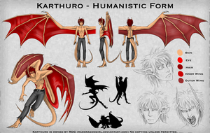 Karthuro - Humanistic Form Sheet by cyborgraptor