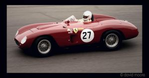 An old pic of a Ferrari by racecarshots