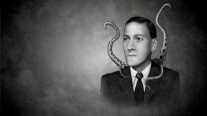 H.P. Lovecraft by hazi-b