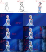 Snow Queen Making-of by Matou31