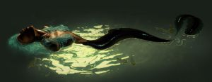The Amazonian Eel mermaid by MaayanCohen