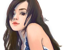 Chinese Girl by EmperorAtma