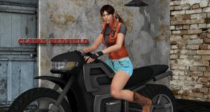 Claire Redfield     READY TO RIDE by blw7920