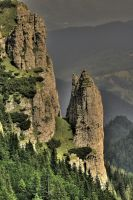 ceahlau mountain hdr by iacobvasile