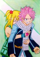 Natsu x Lucy: Please calm down! by dagga19