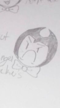 Bendy had enough of your shit by UselessMystery