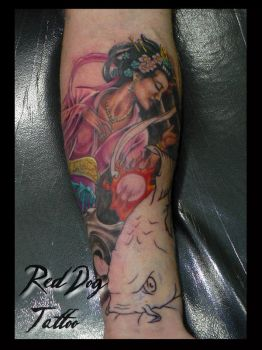 Mark Cover Session 1 by Reddogtattoo