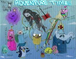 ADVENTURE TIME by AXEL464
