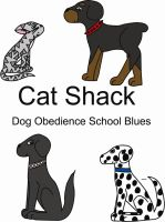 Cat Shack - Comic Title Page by MistyBlue2010