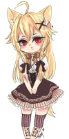 Commission: Amechi Chibi by Chiechu