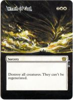 Magic Card Alteration: Wrath of God 10-21 by Ondal-the-Fool