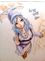 Juvia Lockser - By Hiro Mashima by Namida-no-Shinju