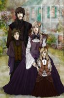 Vitious family c. 1987 by MikachuAttack