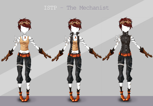 Adoptable outfit #28 - [Auction - CLOSED] by Eggperon