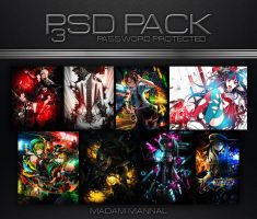 PSD Pack 3 by Madam-Shyarly