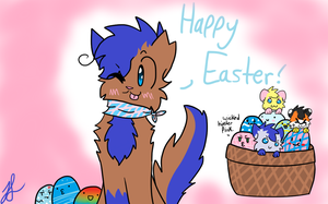 Happy Easter by BlueshinetheKat