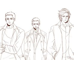 Team Free Will by glaringstar