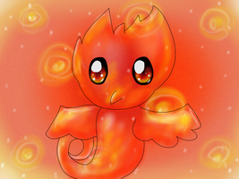 Fire Bird by TheCreatorOfSoften