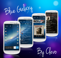 Blue Galaxy By Clevo by Clevo