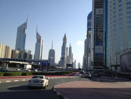 Sheikh Zayed Road by Toash