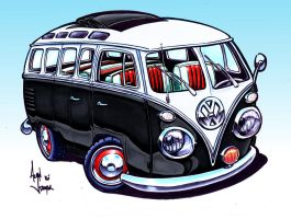 VW Bus by ADStamper