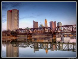 Columbus at Dusk by CashMcL