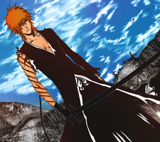 Ichigo Final Coloured by Enigmarez