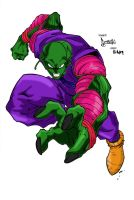 Piccolo in color by hiddenlord