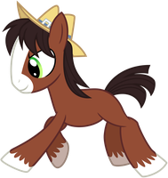 Charging Trouble Colt by missgoldendragon