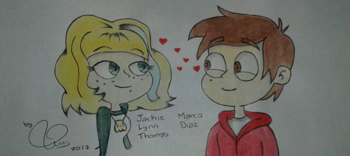 Jackie and Marco by ElectricPea0360