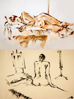 Life Drawing Uno by jahle