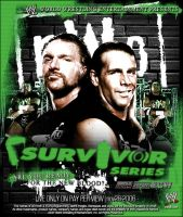Fake Survivor Series 06 Poster by TheNotoriousGAB