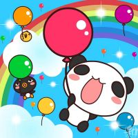 Balloon panda by wachachai