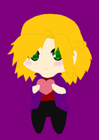 Chibi Alena Elric- I Love You by peppermix14